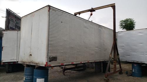 bau aluminio 6,10m 6m assoalho chapeado porta lateral