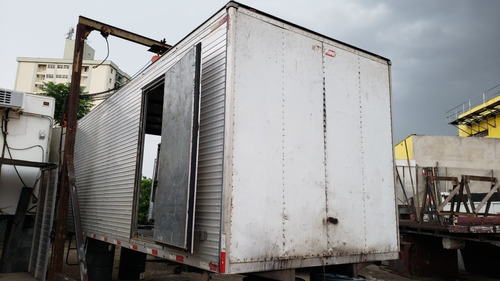 bau aluminio 6,20m porta lateral reparos geral