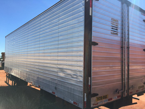bau aluminio 8,50m para caminhao truck
