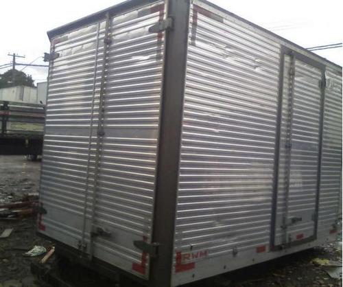 baú aluminio e sider usado p/caminhão 3/4-toco-truck