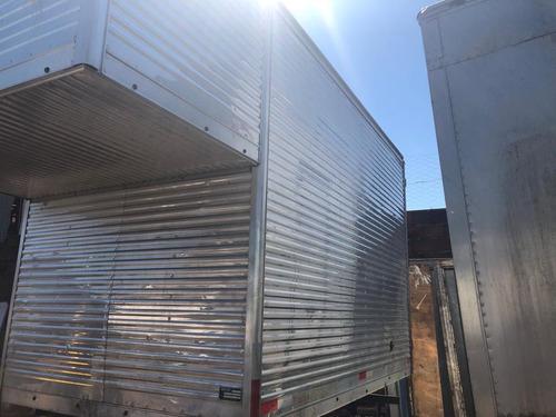 bau aluminio hr kia bongo 3m maleiro sobre cabine