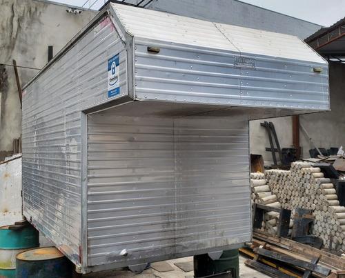 bau aluminio maleiro 3,30m avanço hyundai hr kia bongo