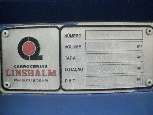 baú de alumínio  9 mts - ano 2002