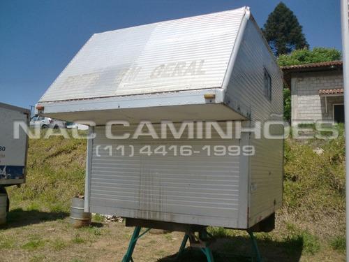 baú de alumínio de 2,80  mts
