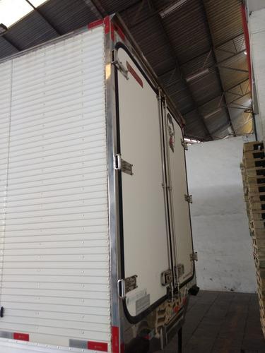 bau frigorifico gancheira + carrier supra 760 2014