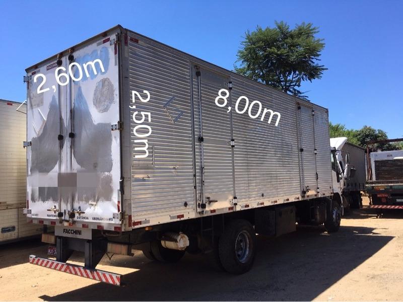 bau furgão aluminio(m) 8,00c x 2,60l x 2,50a