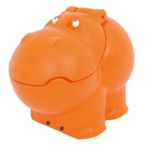 baú infantil hipo xalingo brinquedos laranja dd