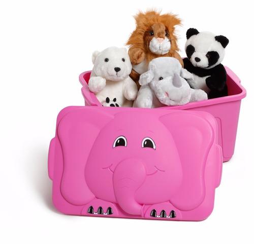bau infantil para guardar brinquedos caixa organizadora 34