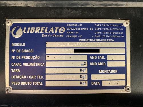 báu ls librelato 2011-2012 furgao 30 paletes