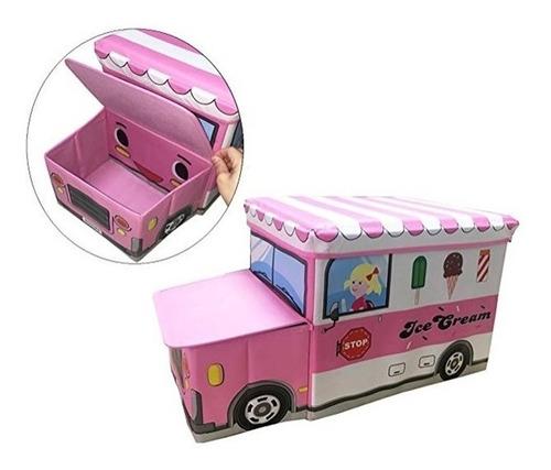 bau organizador de brinquedo caixa organizadora duplo menina