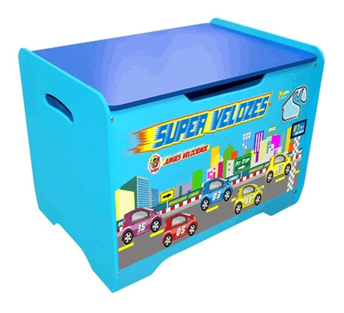 bau organizador de brinquedos em madeira 2em1 vira banquinho