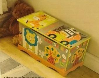 baú organizador infantil para guardar brinquedos, trecos etc