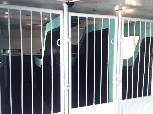 bau para 6 cavalos com camara de seguranca dvd e climatizaçã