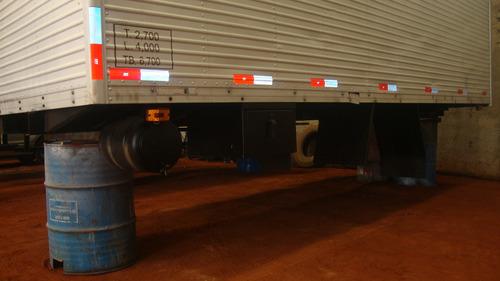bau para caminhoes 3/4 de 5,50 mts porta lateral