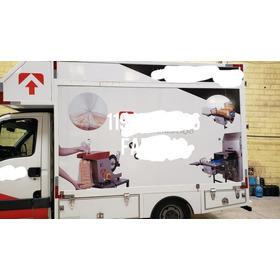 Baú Para Iveco 35s14 * Da Pra Transformar Em Food Truck
