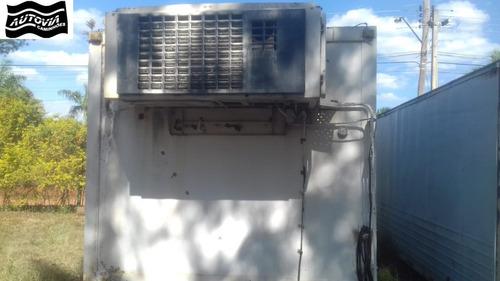baú refrigerado, camara fria c motor eletrico e gasolina