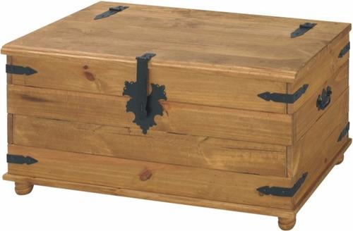bau rustico de madeira maciça - ref.108