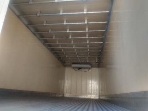 bau truk  refrigerado gancheiro 2010  acoplado e eletrico