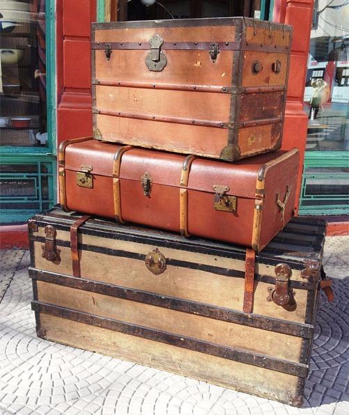 Baul Baules Antiguos Impecables 290000 En Mercado Libre - Baules-antiguos