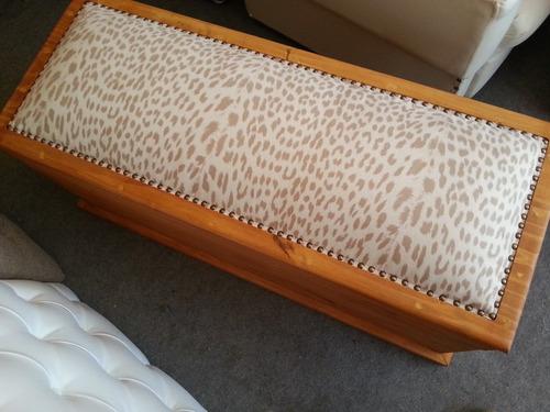 baul botinera pie de cama sommier decoración con garantía