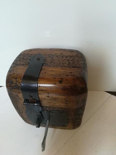 baúl cofre alajero de madera rustico terminado apolillado