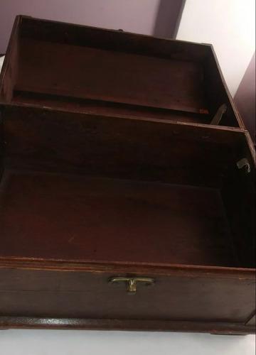 baul de madera grande alto: 18 cm ancho: 32 cm leer antes
