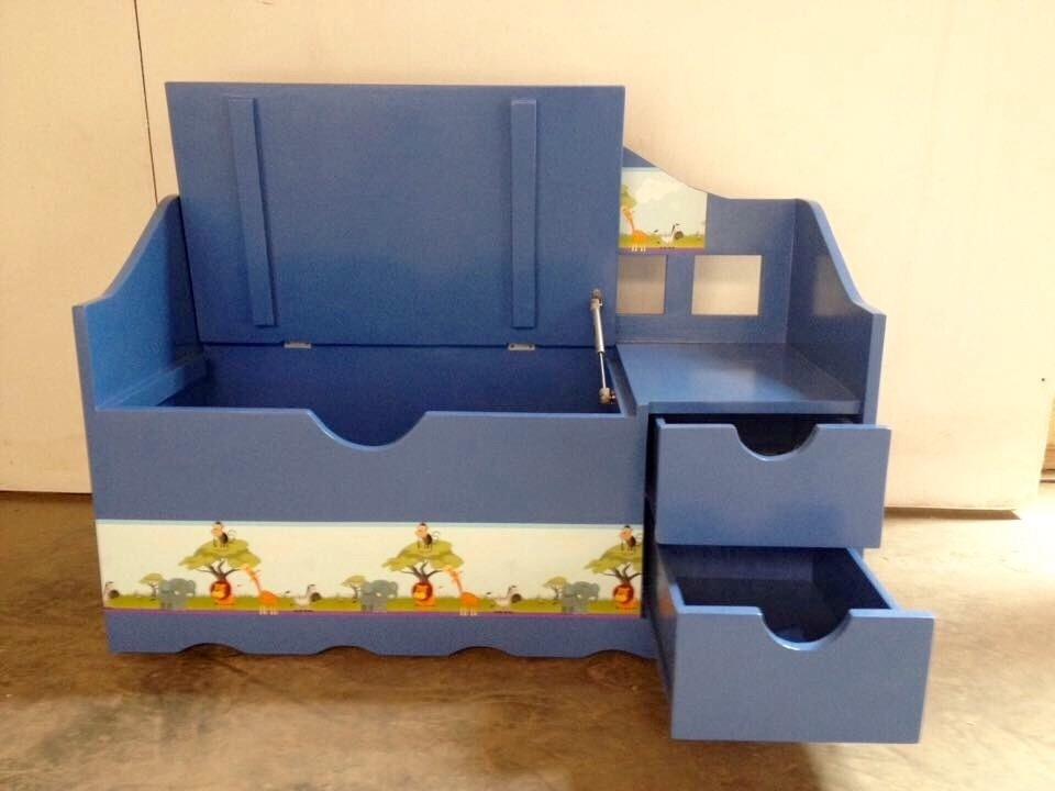 Baul de madera para juguetes s 500 00 en mercado libre - Baul para guardar juguetes ninos ...