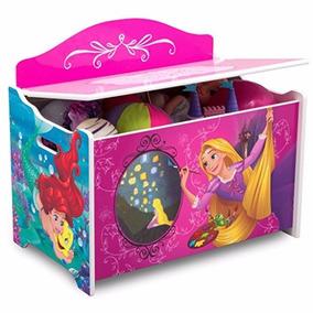 Baúl Para Juguetes De Disney Guardar Marca Princesas 0kOPwn