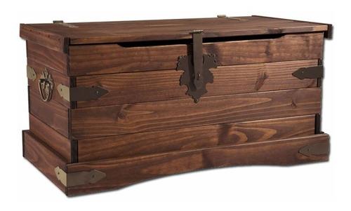 baul m- dormitorio - zapatera - madera - mueble living - lcm