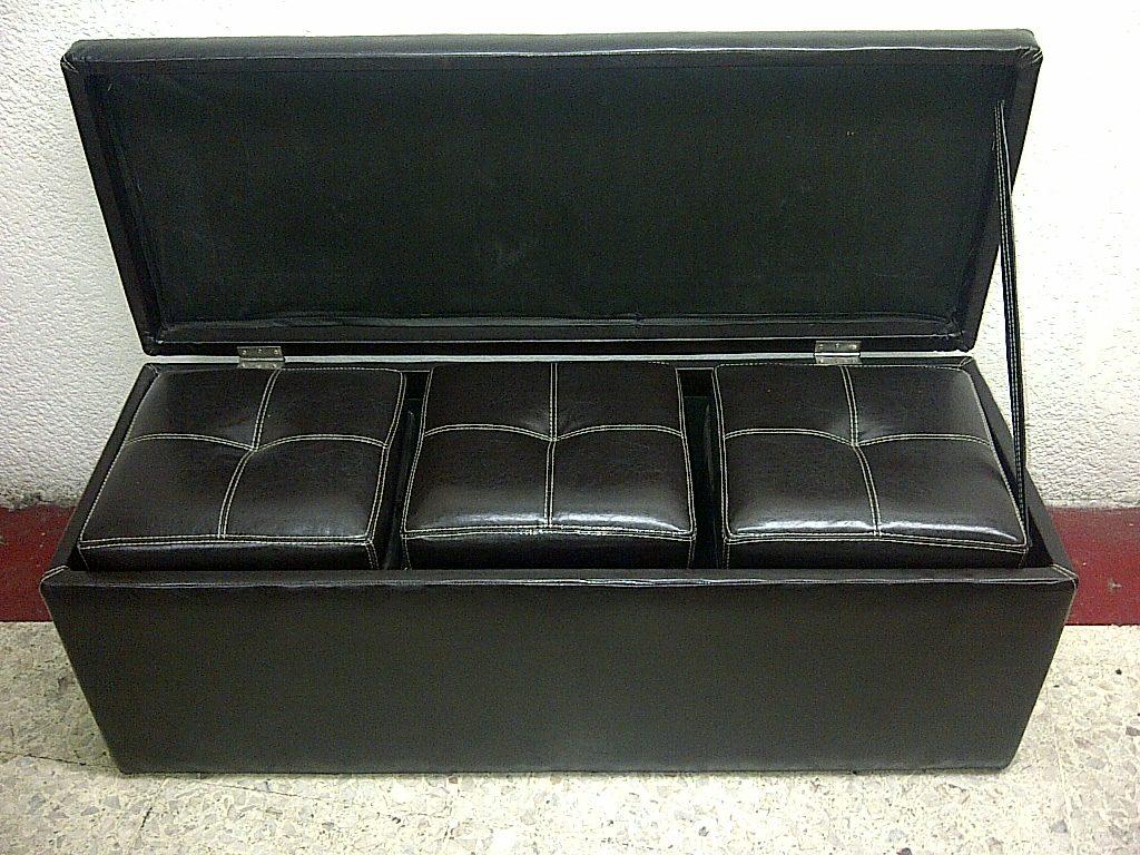 Baul minimalista moderno en tactopiel 4 piezas 5 950 for Baul zapatero moderno