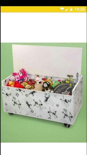 baúl o cajon para juguetes con ruedas 80x45x45