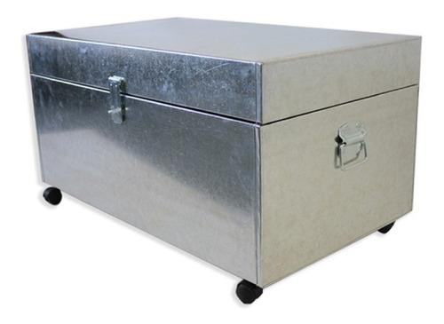 baul organizador mesa cajon mueble juguetes zinc grande pc