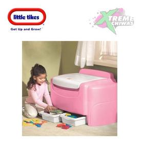 Tikes De Juguetes Niño Baul Organizador Little Rosa Para DH2YWE9I