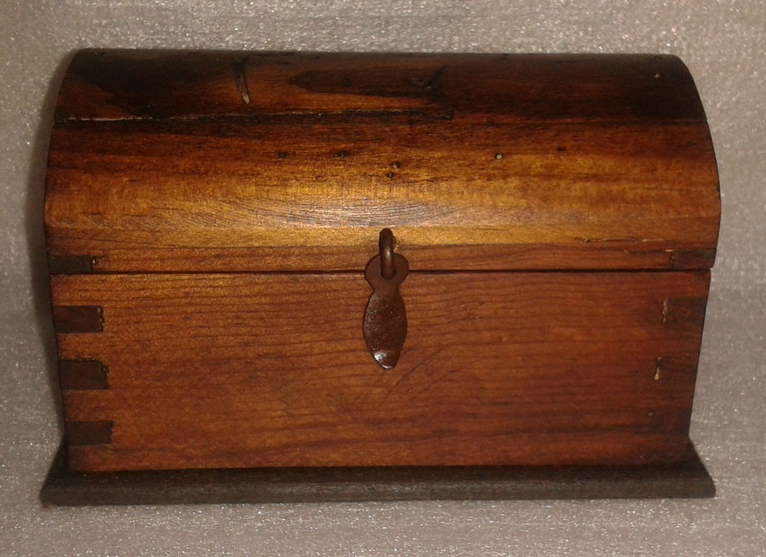 Baul rustico madera apolillada no 2 en mercado - Baules antiguos de madera ...