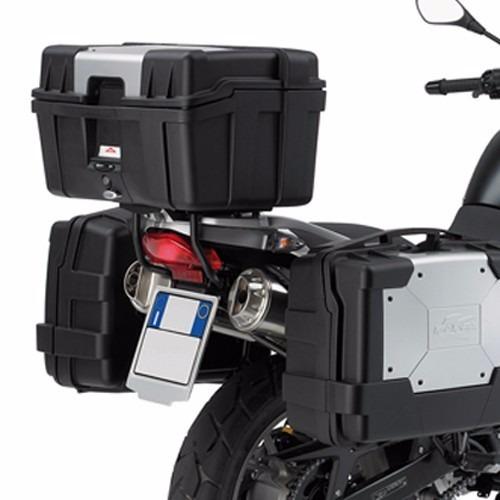 liquidazione a caldo nuovo stile e lusso prima qualità Baul Superior Kappa Garda 46 Lts Aluminio Trasero Moto Sur ...