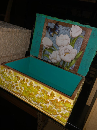 baúles, cofres, cajas de madera decoradas y personalizados