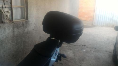 bauleto pro tork 45l+ bagageiro suporte dafra next 250 preto