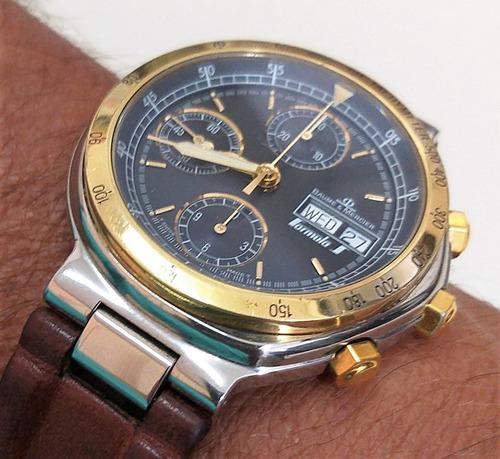 baume & mercier automatic chronograph - 12x sem juros !!!