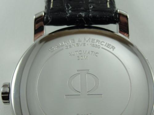 baume mercier relógio