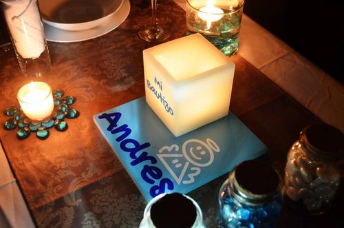 bautizo piezas centro mesa