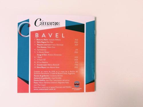 bavel, obras corales modernas | cámara xxi