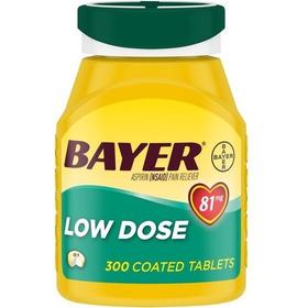 Bayer 81mg Dosis Baja Con Recubrimiento