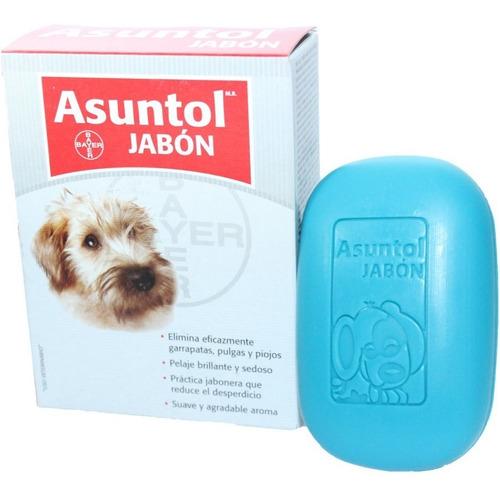 bayer jabón asuntol mata pulgas garrapatas y pioj/ pharmavet