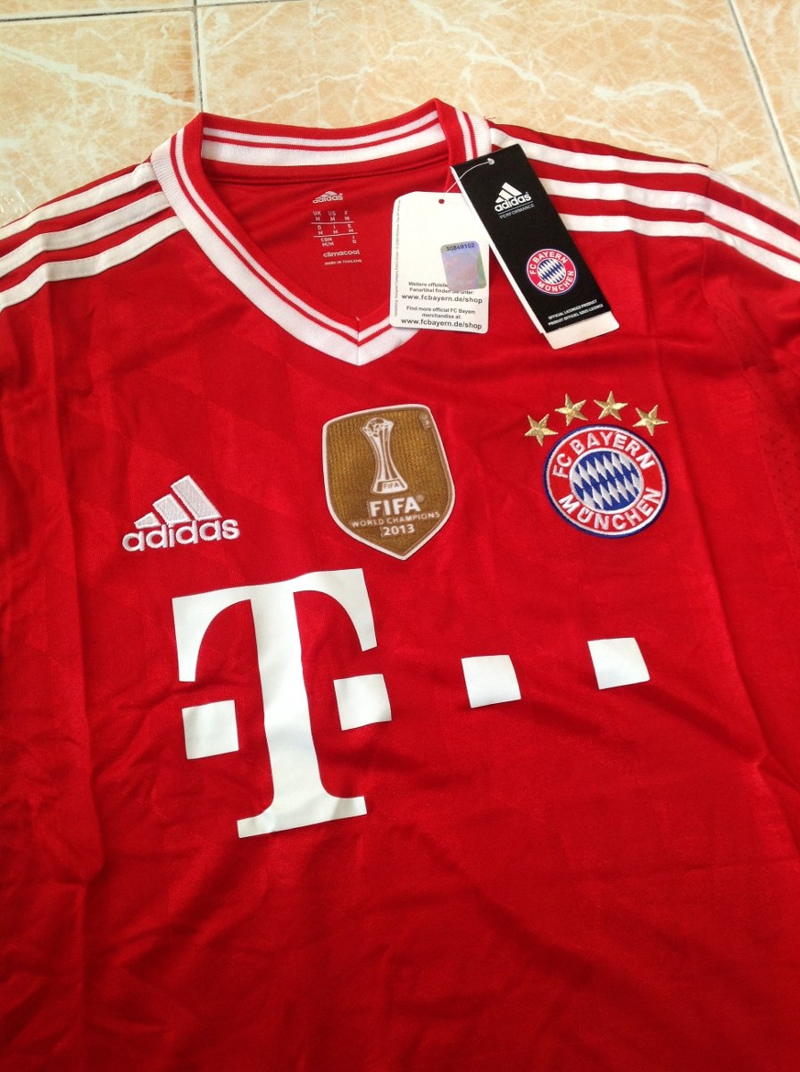 bayern munchen adidas 2012 13 original talla s m l xl. Black Bedroom Furniture Sets. Home Design Ideas