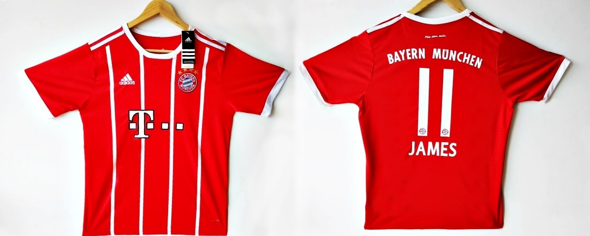 73912812fad4b Camiseta De Bayern Munich James 10 -   39.900 en Mercado Libre