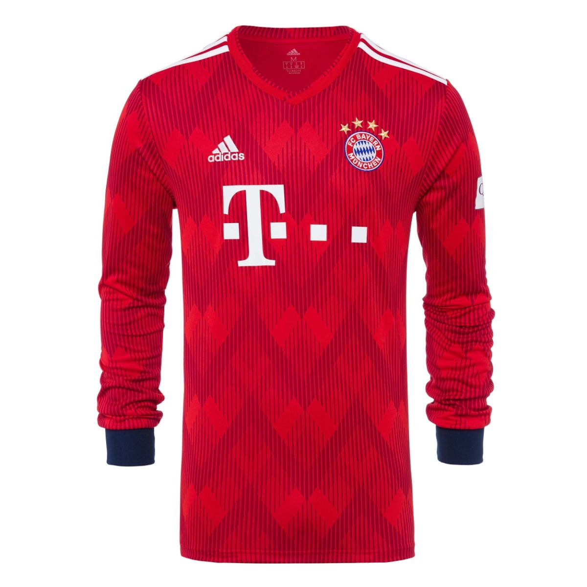 Bayern Munique - Unif 1 Manga Longa - 18   19 - Frete Grátis - R ... 1231d0edcba50
