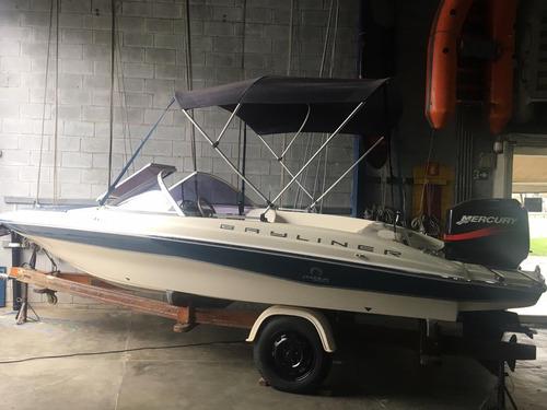 bayliner 16 mercury marine 75 hp poddium nautica