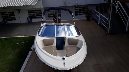 bayliner 16 pés(casco americano original) 90hp mercury 200hs