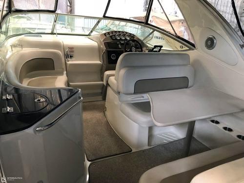 bayliner 310 com 2 mercruizer 220 hp ano 2015, impecável!