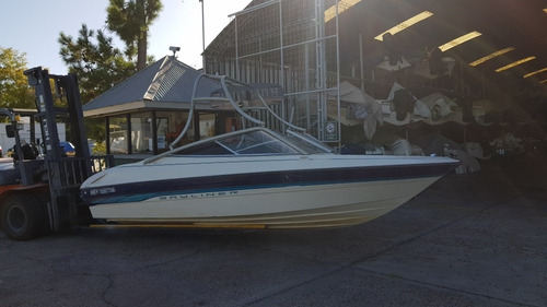 bayliner open 1850 ls capri   mercruiser 205hp   wakeboard